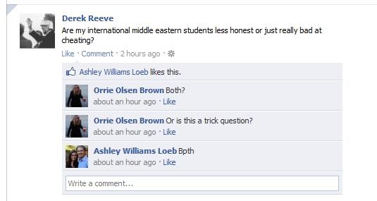 Reeve Facebook Page